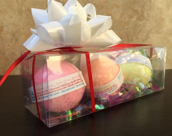 Ready to Ship Bath Bomb Gift / Ready to Ship / Set of 3 / Set of 3 Bath Bomb / Bath bomb / Bath Gifts / Small Bath Gift / Gift Under 10 /
