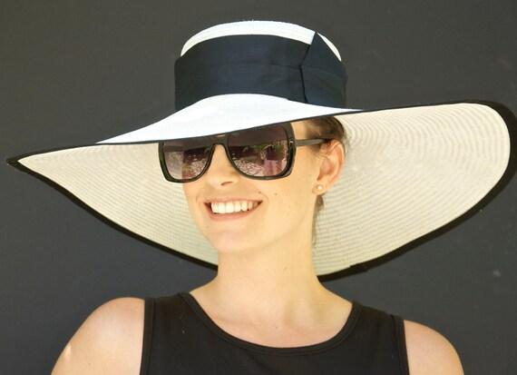 Wedding Hat, Wide Brim Hat, Ascot Hat, Formal Hat, Church Hat, Special Occasion Hat, big hat