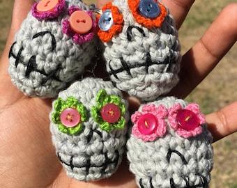 Sugar Skull Keychain READY TO SHIP
