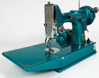 custom painted singer 221 candy color of choice!