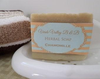 Chamomile Aloe Soap, Chamomile Soap, Chamomile Aloe Soap Bar, Chamomile Aloe Bath Soap, Handmade Soap, Herbal Soap, Natural Soap, Vegan Soap