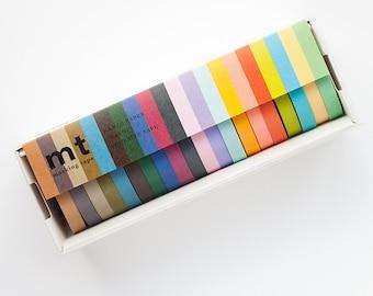 Washi Tape Set - MT Masking Tape 20PC Washi Tape Set | Washi Tape Gift Set