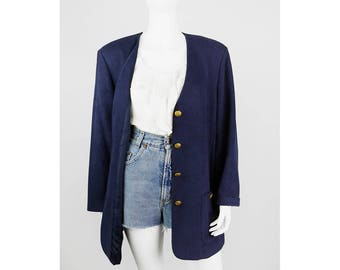 Vintage Blazer with gold buttons