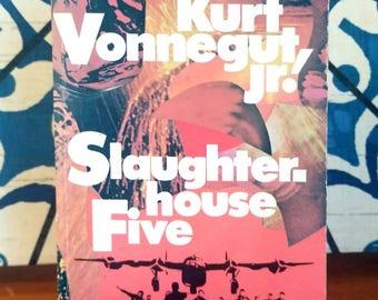 Kurt Vonnegut, Slaughterhouse-Five, Rare 1st Edition Softcover (1971)