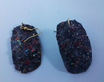 handmade shelled earrings