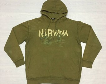 Band Nirvana Hoodie Sweater