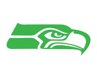 Seattle Seahawks Decal (Free Same day Shipping within the USA )