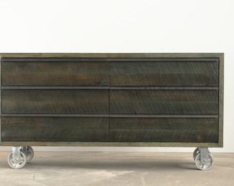 Rustic Modern Dresser - Reclaimed hardwoods