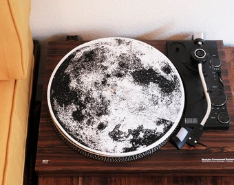 Turntable Slipmat: The Moon