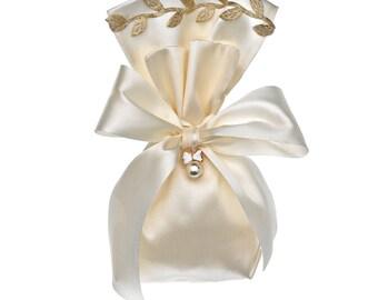 Olive pearl favors unique favors wedding favors Baptism favors Greek bombonieres christening favors for guests Giveaway ideas ivory elegant