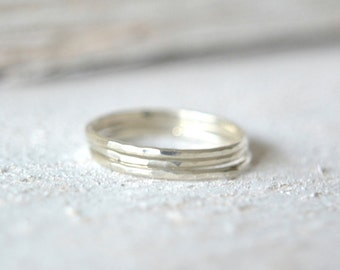 Silver Stacking Rings. Stacking Rings Silver, Thin Stacking Ring, Stack Ring, Silver Stackable Rings, Stacking Silver Rings