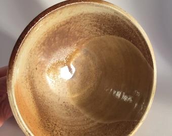 Wood Fired Bowl/wheel thrown/ hand made/ anagama