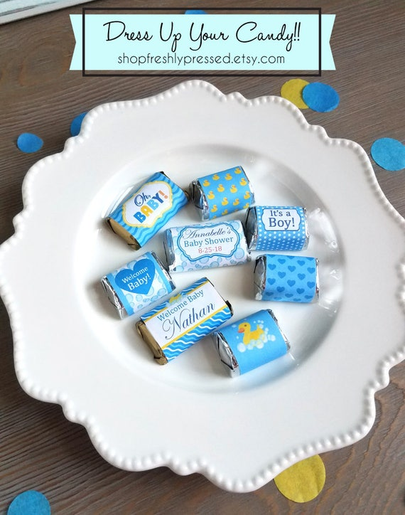 Printable Hershey Minis And Nugget Labels Customizable Diy