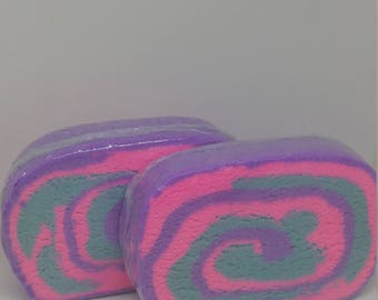 HELLO COTTON CANDY!!! Monster Bubbly Barz