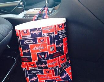 Washington Capitals- Car Trash Bag