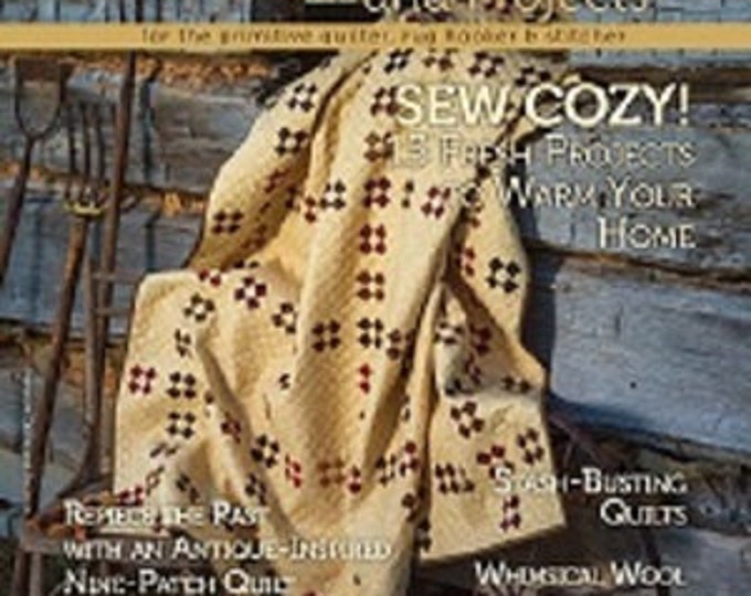 CD  DIGITAL Magazine: Fall 2014 Primitive Quilts and Projects Magazine Back Issue