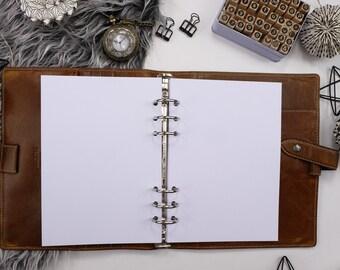 50 leaves 120g blank paper A5 Filofax BLAN-A5-50