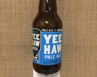 Yee Haw Pale Ale 12oz. Glass Bottle Night Light