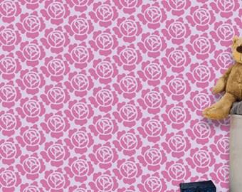 Reusable stencil, DIY home decor, kids room  wall stencil, KS-04