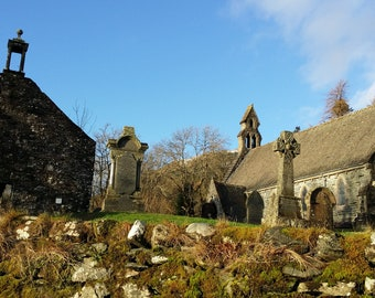 Balquidder Parish Church, Scotland.  The final resting place of Rob Roy MacGregor