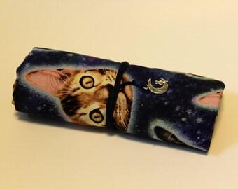 Cosmic Kitty Brush Roll