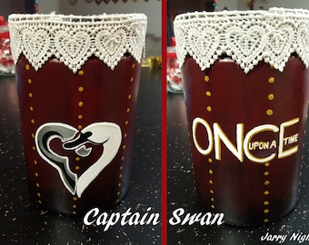 Captain Swan Jar