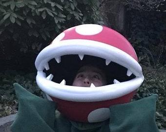Mario Piranha Plant Head