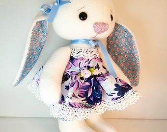"""Stuffed animal, stuffed animal Bunny """"Mia"""""""
