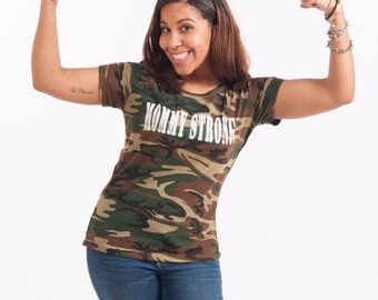 Mommy Strong Graphic Tee