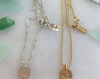 Nantucket Island Necklace
