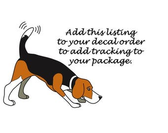 Add Tracking Ability to Decal Orders