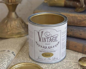 Chalk Paint Metallic Gold Vegan