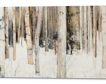 "Giclee Canvas Wall Art ""Warm Winter Light III"" by Julia Purinton"