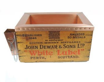 Dewar's White Label Whisky Custom Copper Cooler