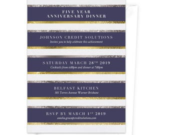 Party Invitations Stationery and Gifts von claudiaowen auf Etsy