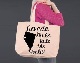 Nevada   Bridesmaid Tote   Tote Bag   Canvas Tote Bag   Beach Tote   Canvas Tote   Shopping Tote   Shopping Bag   Korena Loves