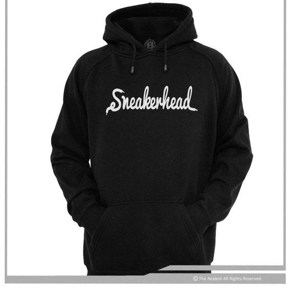 Sneakerhead Shoe Lace Script Logo Hoodie Sneaker Freaker lit Shoe Game Kicks luPRPmSoYv