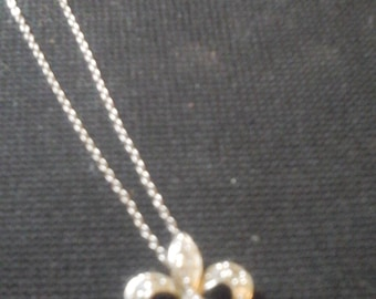 Sterling Silver Pendent with Necklace