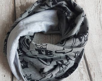 Boys  scarf ,Girl  Knights Scarf, Kids Scarf, Scarves for Infant, Children Scarf, Toddler Scarf  for 2-4 years