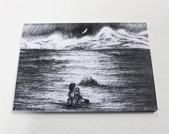 An Ocean Apart (postcard)
