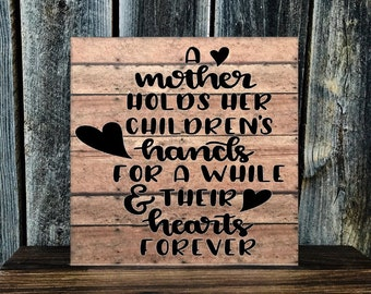 Custom Made Mothers Day WALL DECOR