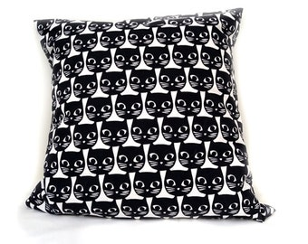 Cushion Black Kittens