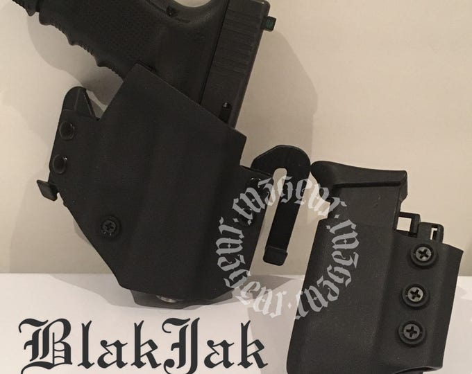 BlakJak Slim Heavy Duty holster mag combo (NEWMODEL!) . Click on variations when ordering.