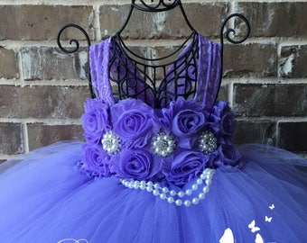 Lavender Dress, Lavender Flower Girl Dress, Lavender Tutu Dress, Lavender Dress, Lavender Wedding, Lavender Tulle Dress, Lavender
