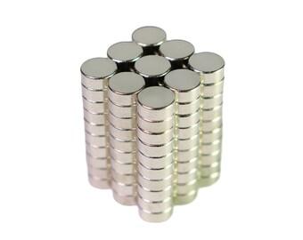 100pcs N35 Neodymium Round Magnet 5mm x 2mm (0.2 x 0.08 inches)