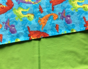 Dinosaurs Reversible Blanket