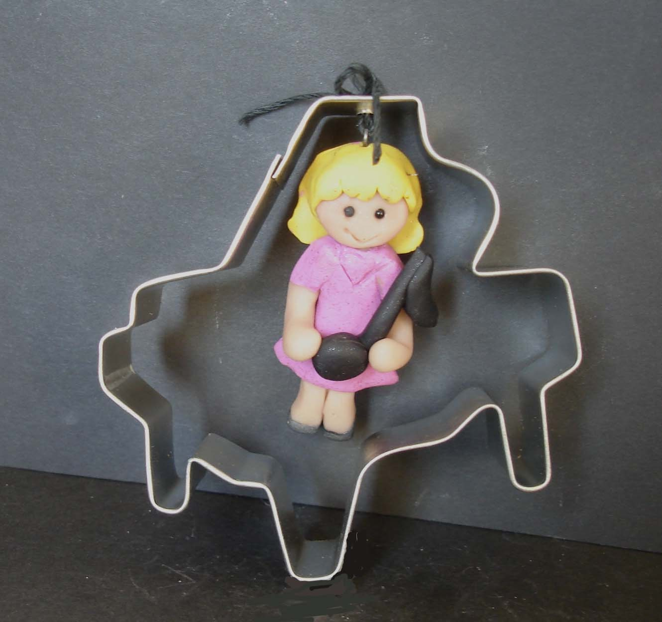 Grand Piano Christmas Ornament Player Music Note Cookie Cutter