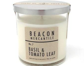 Basil & Tomato Leaf- 8oz Soy Candle