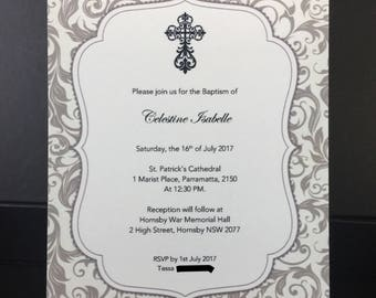 10 pcs Made to Order Invitation