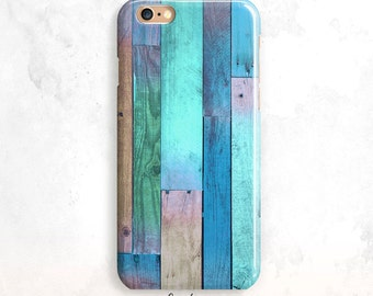 iPhone 6S Case, Wood iPhone 5S Case, iPhone SE Case, Wood iPhone 6 Plus, iPhone 7 Case, Blue Wood iPhone 6 Case, iPhone 5 Case,iPhone 7 Plus